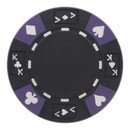 Brybelly Roll of 25 - Black - Ace King Suited 14 Gram Poker Chips