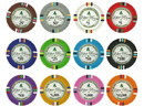 Brybelly Bluff Canyon 13.5 Gram Poker Chip Sample Pack - 12 Chips