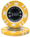 Brybelly Roll of 25 - Coin Inlay 15 Gram - $1,000 Chip