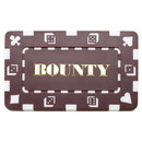 Brybelly 5 Denominated Poker Plaques Brown BOUNTY