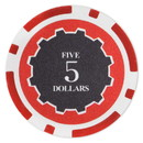 Brybelly Roll of 25 - Eclipse 14 Gram Poker Chips - $5