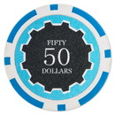 Brybelly Roll of 25 - Eclipse 14 Gram Poker Chips - $50