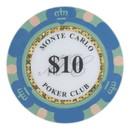Brybelly Roll of 25 - $10 Monte Carlo 14 Gram Poker Chips