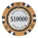 Brybelly Roll of 25 - $10,000 Monte Carlo 14 Gram Poker Chips