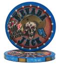 Brybelly Roll of 25 - $1 Nevada Jack 10 Gram Ceramic Poker Chip