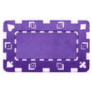 Brybelly 5 Purple Rectangular Poker Chips