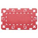 Brybelly 5 Red Rectangular Poker Chips