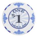 Brybelly Roll of 25 - $1 Scroll 10 Gram Ceramic Poker Chip