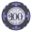 Brybelly Roll of 25 - $100 Scroll 10 Gram Ceramic Poker Chip