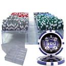 Brybelly 200 Ct - Custom Breakout - Ace Casino 14 Gram - Acrylic Tray