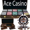 Brybelly 500 Ct - Pre-Packaged - Ace Casino 14 Gram - Walnut Case
