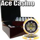 Brybelly 750 Ct - Custom Build - Ace Casino 14 Gram - Mahogany