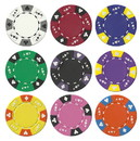 Brybelly Custom - 500 Ct Ace King Suited Chip Set Aluminum Case