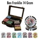 Brybelly 300 Ct - Custom Breakout - Ben Franklin 14 G - Walnut