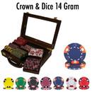 Brybelly 300 Ct - Custom Breakout - Crown & Dice - Walnut
