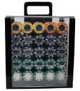Brybelly 1000 Ct Acrylic Custom Breakout - Coin Inlay 15 Gram Chips