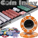 Brybelly 600 Ct Aluminum Custom Packaged - Coin Inlay 15 Gram Chips