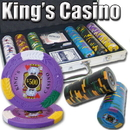 Brybelly 300 Ct - Custom Breakout - Kings Casino 14 G - Aluminum