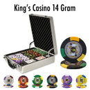 Brybelly 500 Ct - Custom Breakout - King's Casino 14 G - Claysmith
