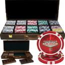 Brybelly 500 Ct - Custom Breakout - Las Vegas 14 G - Walnut Case