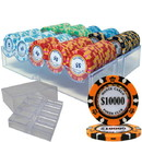 Brybelly Custom - 200 Ct Monte Carlo Chip Set in Acrylic Tray Case