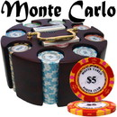 Brybelly Custom - 200 Ct Monte Carlo Chip Set in Wooden Carousel