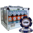 Brybelly Pre-Pack - 600 Ct Monte Carlo Chip Set Acrylic Case
