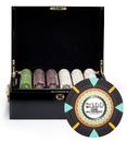 Brybelly 500Ct Custom Claysmith Gaming 'The Mint' in Black Mahogany