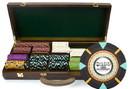 Brybelly 500Ct Custom Claysmith Gaming 'The Mint' in Walnut