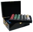 Brybelly Custom Breakout - 500 Ct Nevada Jack Black Mahogany Chip Set