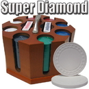 Brybelly Custom Breakout 200 Ct Super Diamond Chip Set Wood Carousel