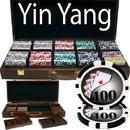 Brybelly 500 Ct - Custom Breakout - Yin Yang 13.5 G - Walnut Case