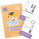 Brybelly Subtraction Flashcards