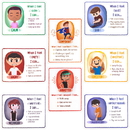 Brybelly How I'm Feeling Reversible Classroom Posters, 8-pack