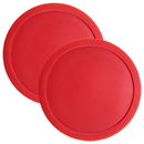 Brybelly Pair of Air Hockey Pucks - 3 1/4