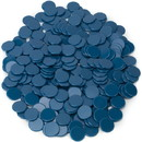 Brybelly Solid Blue Bingo Chips, 300-pack