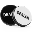 Brybelly 2-Sided Dealer Button Poker Buck 3 inches