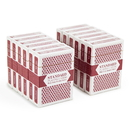 Brybelly 12 Red Decks (Wide Size, Jumbo Index)