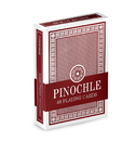 Brybelly Single Red Deck Pinochle Playing Cards