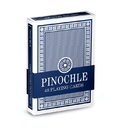 Brybelly Single Blue Deck Pinochle Playing Cards
