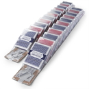 Brybelly Playing Card Clip Strip, 12 Decks Mixed, Case of 2
