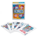 Brybelly King's Drinking Game Plastic Playing Cards