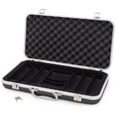 Brybelly Black ABS Plastic Poker Chip Case, 300 ct.