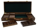 Brybelly 500 Ct Walnut Wooden Case