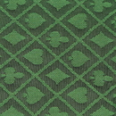 Brybelly 10' Section of Green Two-Tone Poker Table Speed Cloth