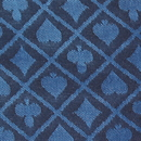 Brybelly 50 Meter Roll of Blue Two-Tone Poker Table Speed Cloth