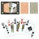 Brybelly Copag 1546 Poker Orange/Brown Jumbo