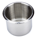 Brybelly Small, Standard Stainless Steel Drop In Cup Holder