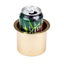Brybelly Vivid Gold Aluminum Drop In Cup Holder