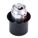 Brybelly Vivid Black Aluminum Cup Holder